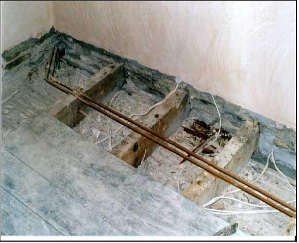 Repair Joists In Buildings Structural Repair Of Wooden Joists